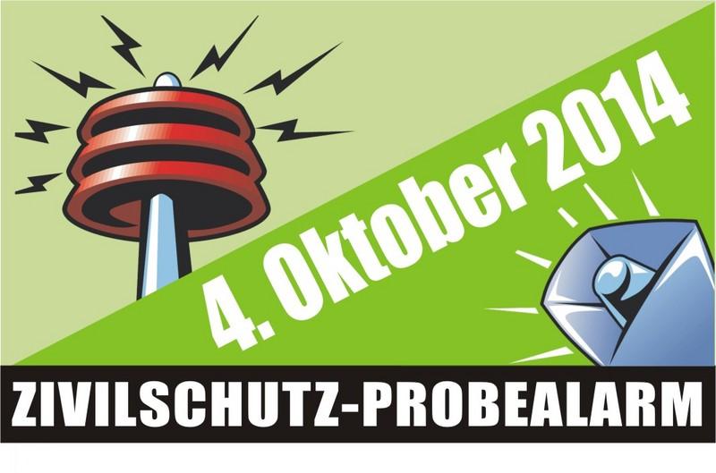 Probealarm-Button 2014 © Kärntner Zivilschutzverband